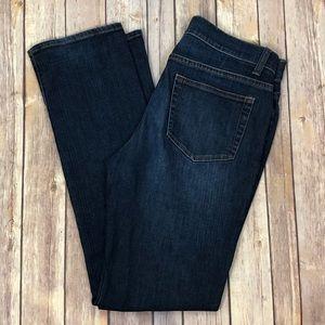 GARNET HILL Straight leg | Dark wash